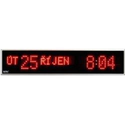 Textové digitálne hodiny KLT 245R a KLT 245G
