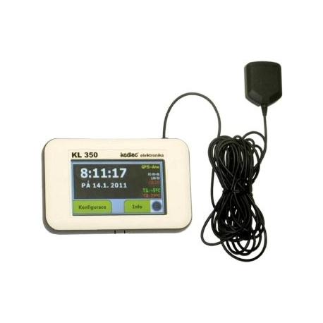 KLT 350 GPS hlavné hodiny